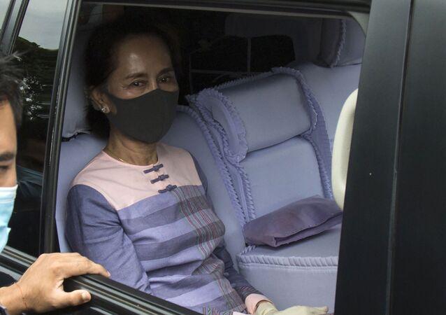 Cựu Cố vấn Nhà nước Myanmar Aung San Suu Kyi.