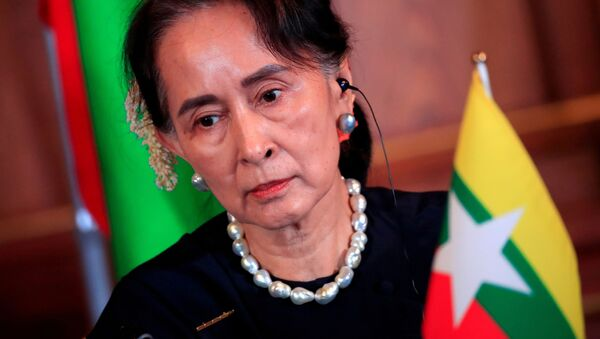 Cựu Cố vấn Nhà nước Myanmar Aung San Suu Kyi. - Sputnik Việt Nam