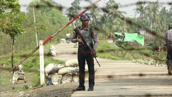 Cảnh sát Myanmar - Sputnik Việt Nam
