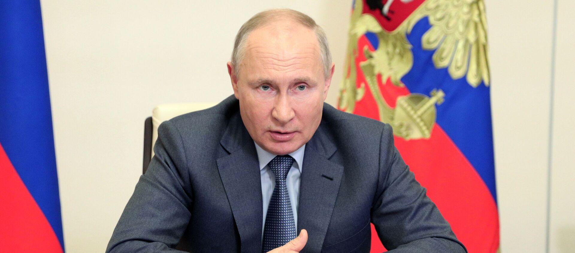 Tổng thống Nga Vladimir Putin - Sputnik Việt Nam, 1920, 25.05.2021