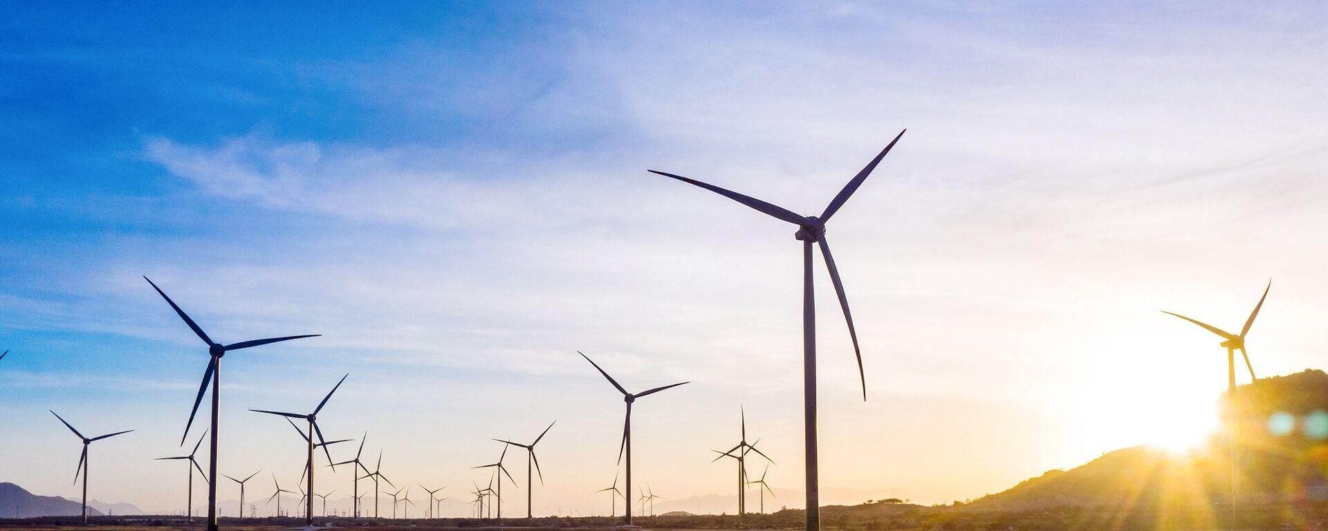 Tổ hợp điện năng lượng tái tạo của Tập đoàn Trung Nam đầu tư tại huyện Thuận Bắc (Ninh Thuận). - Sputnik Việt Nam, 1920, 25.05.2021