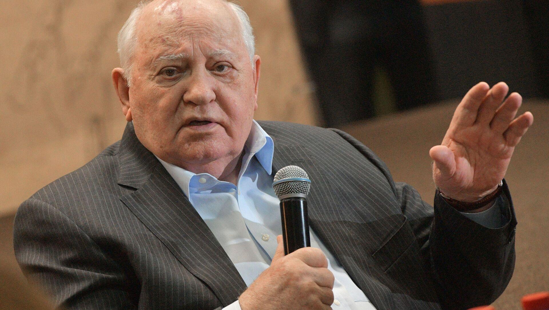 Cựu Tổng thống Liên Xô Mikhail Gorbachev. - Sputnik Việt Nam, 1920, 26.05.2021