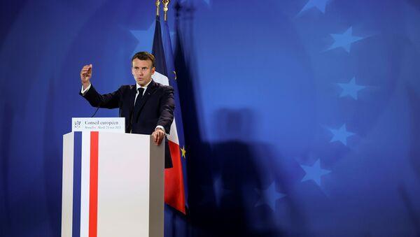 Tổng thống Pháp Emmanuel Macron. - Sputnik Việt Nam