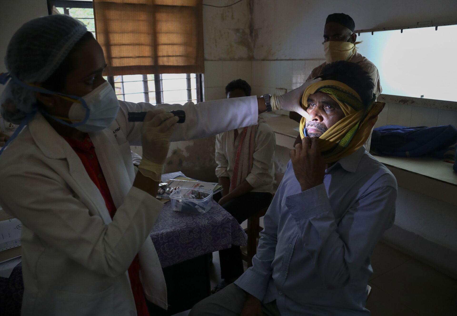 Nấm mốc và coronavirus ở Ấn Độ. Vấn đề nghiêm trọng đến mức nào? - Sputnik Việt Nam, 1920, 26.05.2021