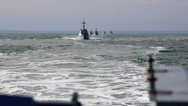 Các ca nô bọc thép Hải quân Ukraina. - Sputnik Việt Nam