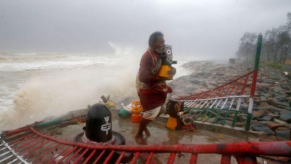 Cơn bão Yaas ở Ấn Độ  - Sputnik Việt Nam
