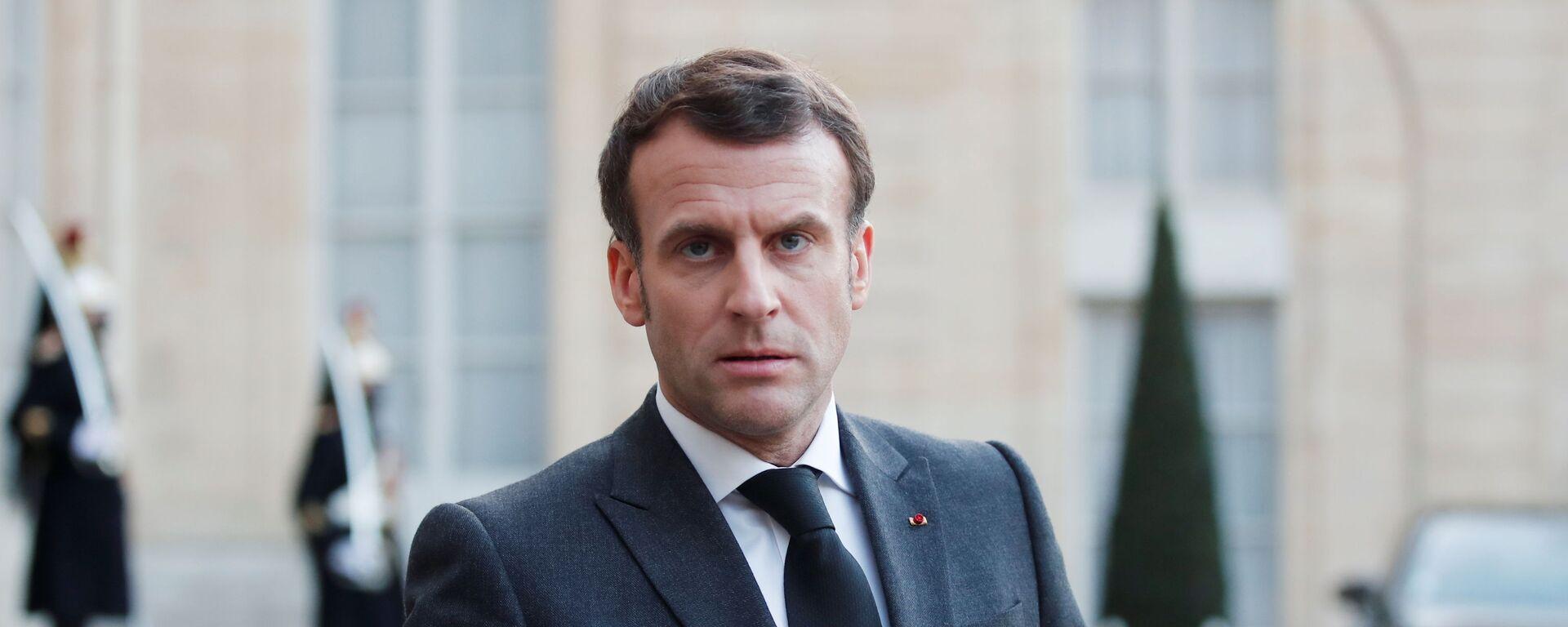 Emmanuel Macron  - Sputnik Việt Nam, 1920, 12.08.2021