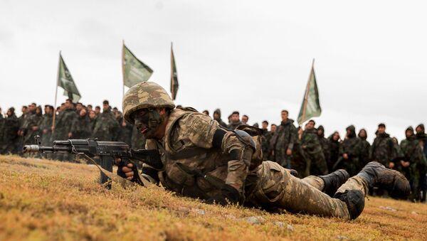 Quân nhân Azerbaijan, ảnh từ kho lưu trữ - Sputnik Việt Nam