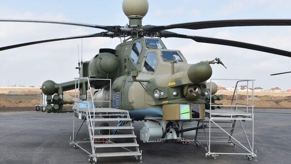 Máy bay trực thăng chiến đấu mới nhất của Nga Mi-28NM. - Sputnik Việt Nam