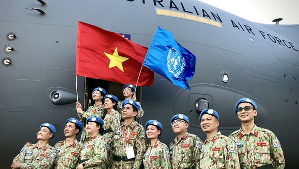 Gìn giữ hòa bình Liên hợp quốc: Điểm sáng của Việt Nam trong đối ngoại quốc phòng. - Sputnik Việt Nam