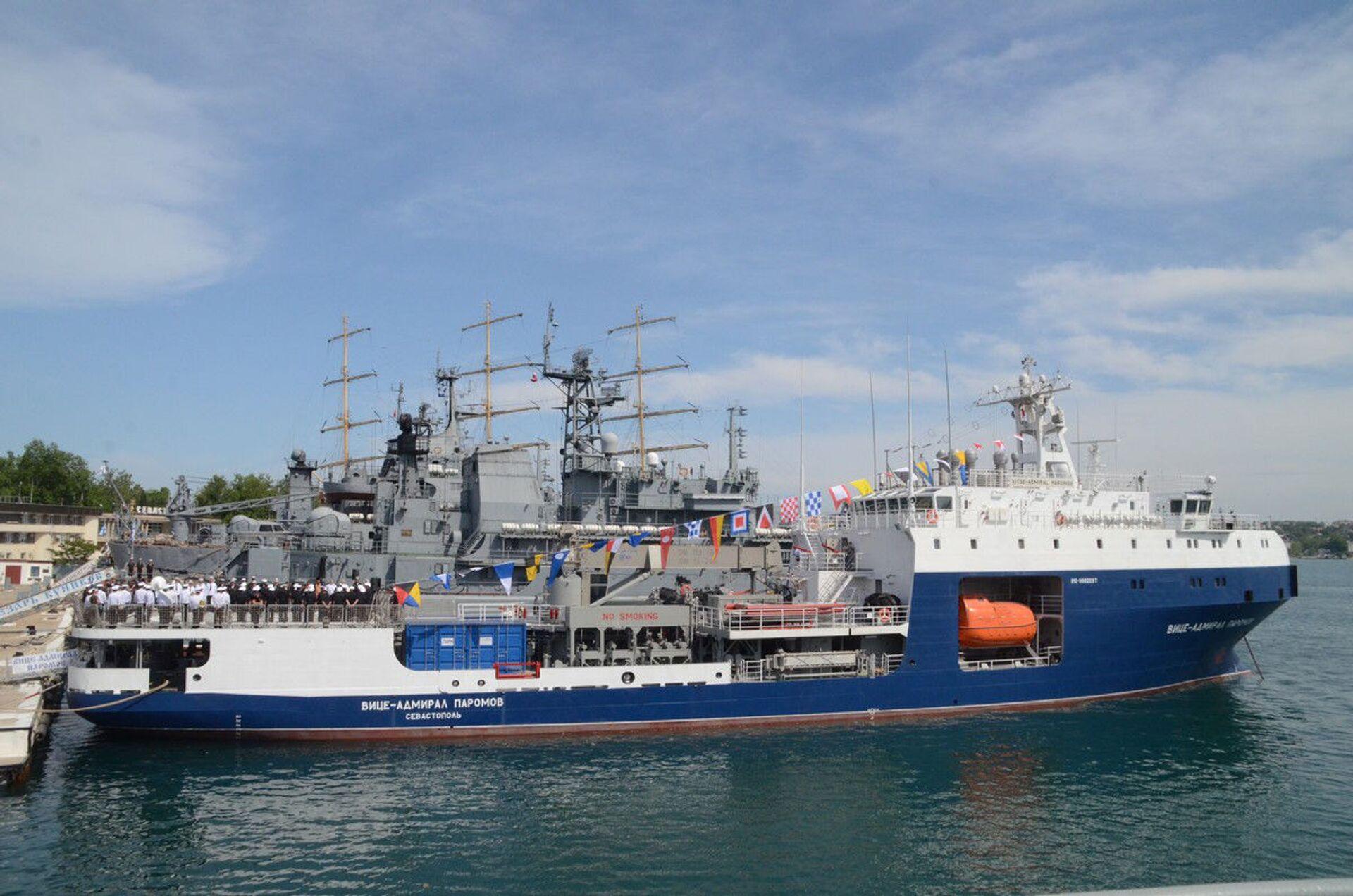 Tàu chở dầu Phó đô đốc Paromov được biên chế vào Hạm đội Biển Đen của Nga - Sputnik Việt Nam, 1920, 29.05.2021