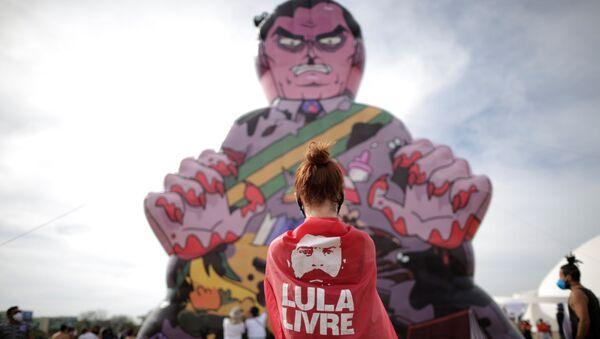 Các cuộc biểu tình chống lại chính phủ Bolsonaro ở Brazil - Sputnik Việt Nam