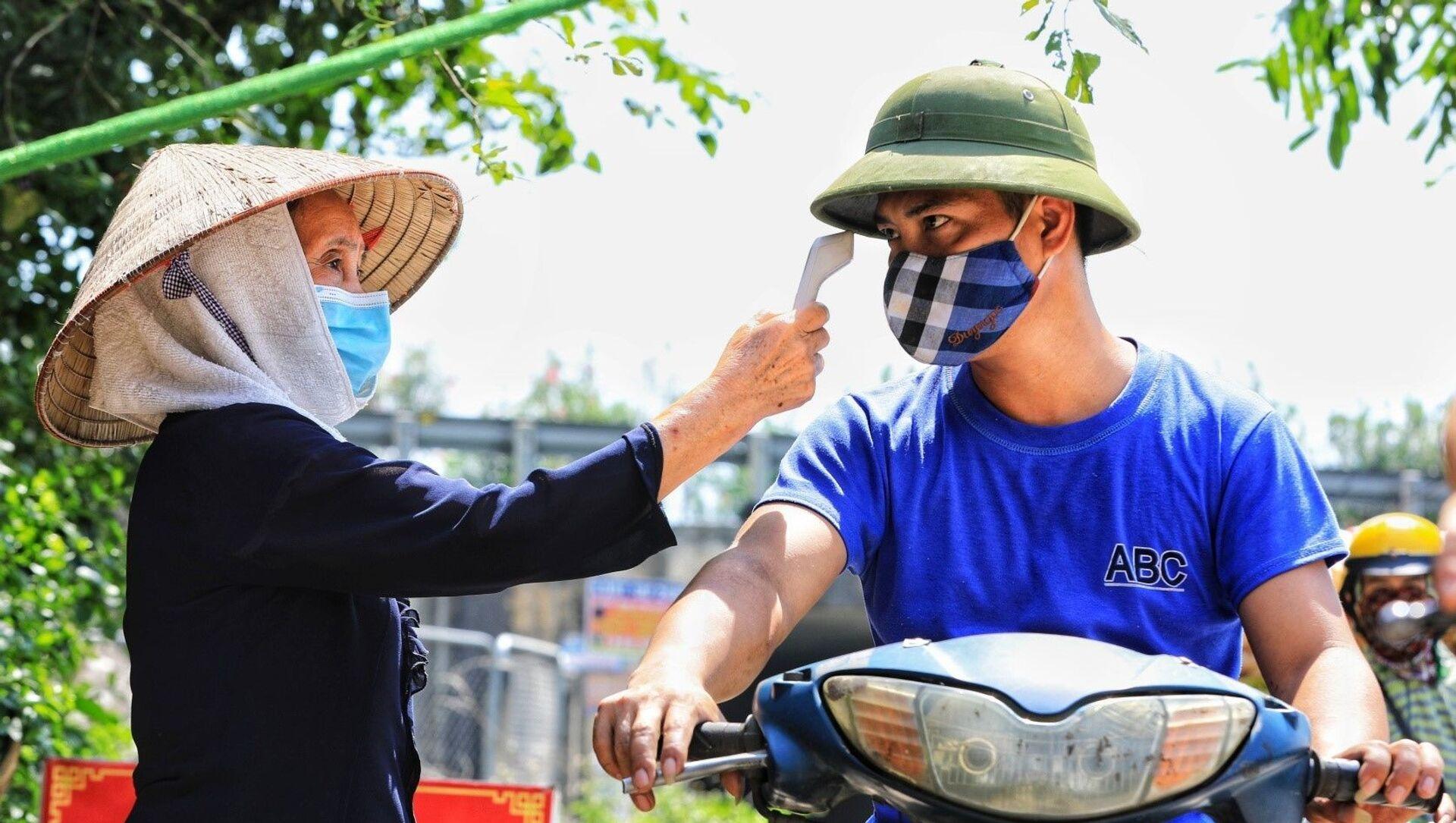 COVID-19: Toàn dân huyện Đông Anh (Hà Nội) tham gia chống dịch - Sputnik Việt Nam, 1920, 10.06.2021