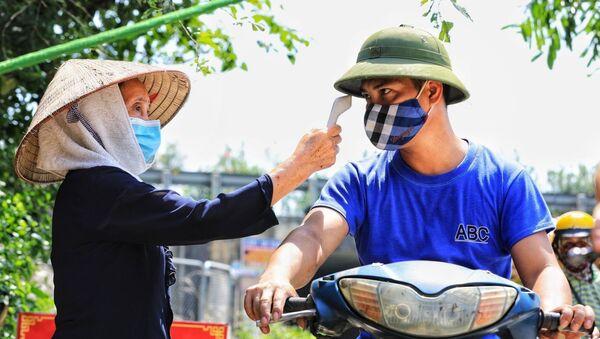 COVID-19: Toàn dân huyện Đông Anh (Hà Nội) tham gia chống dịch - Sputnik Việt Nam