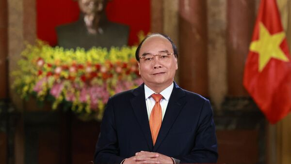 Chủ tịch nước Nguyễn Xuân Phúc gửi thư tới Tổng thống Hoa Kỳ Joe Biden. - Sputnik Việt Nam