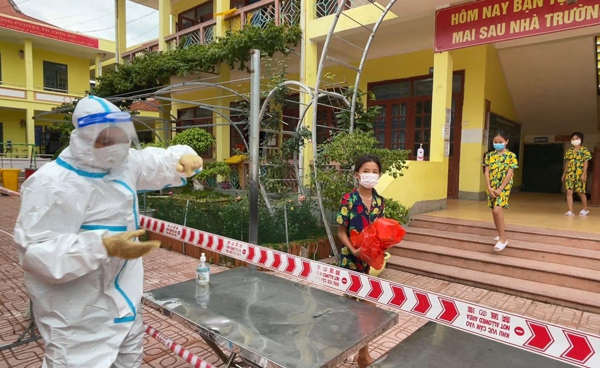 Khoảng 6% trường hợp F1 phải cách ly là trẻ em, Việt Nam cần làm gì để bảo vệ? - Sputnik Việt Nam, 1920, 01.06.2021