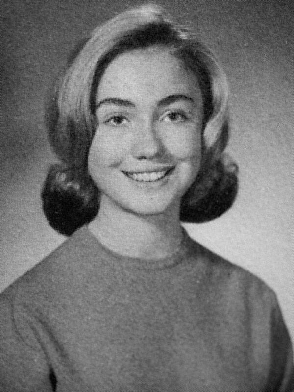 Chân dung Hillary Clinton trong album trường phổ thông, năm 1965 - Sputnik Việt Nam