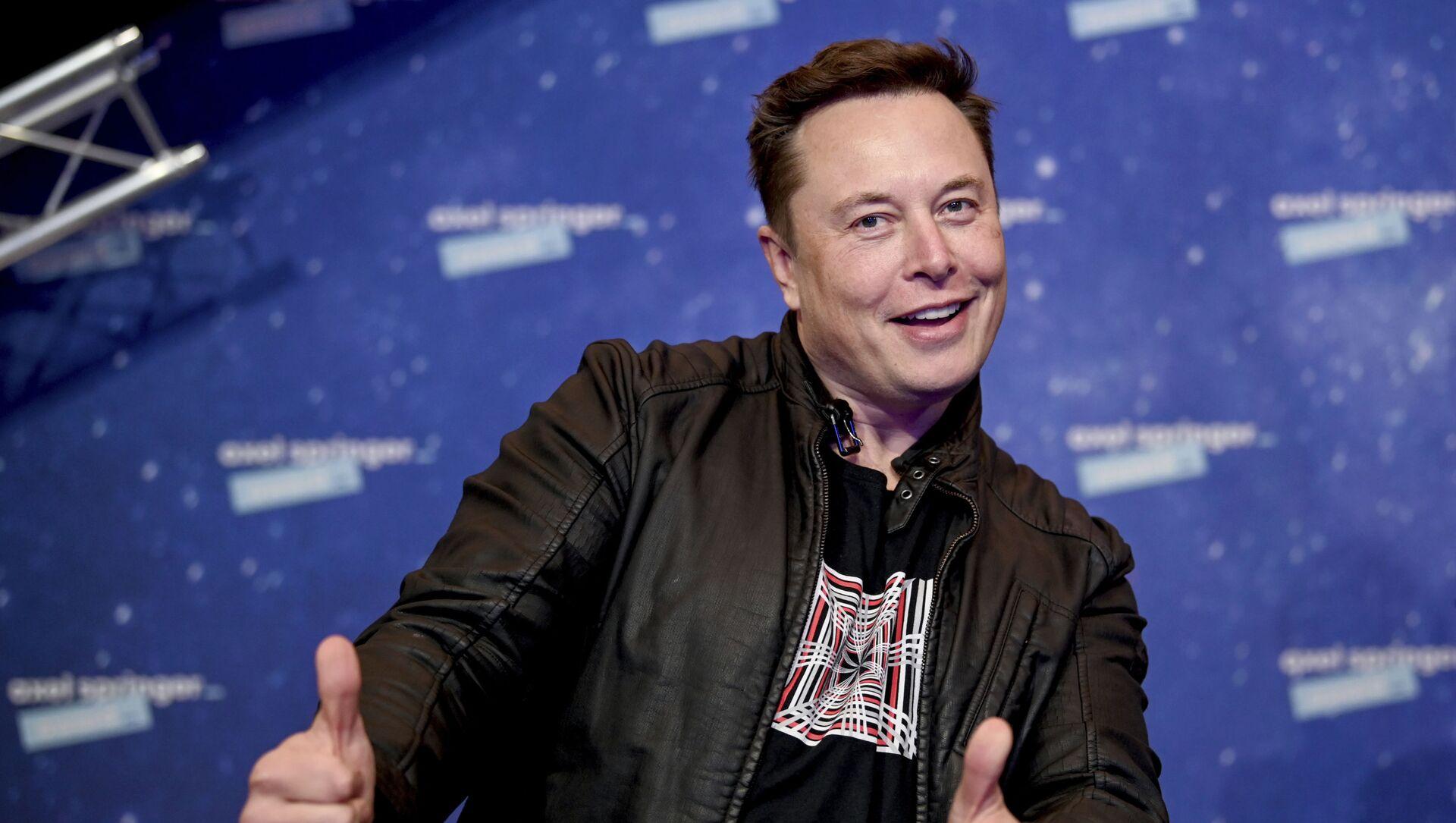 Elon Musk  - Sputnik Việt Nam, 1920, 01.06.2021
