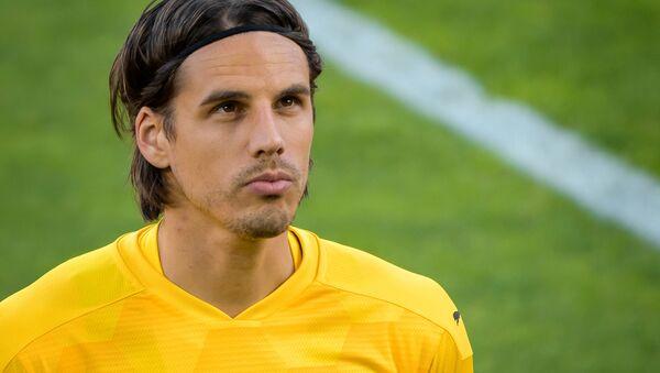 Cầu thủ bóng đá Thụy Sĩ, thủ môn của câu lạc bộ Borussia và đội tuyển quốc gia Thụy Sĩ Yann Sommer - Sputnik Việt Nam