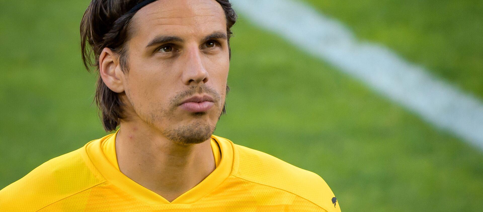 Cầu thủ bóng đá Thụy Sĩ, thủ môn của câu lạc bộ Borussia và đội tuyển quốc gia Thụy Sĩ Yann Sommer - Sputnik Việt Nam, 1920, 01.06.2021