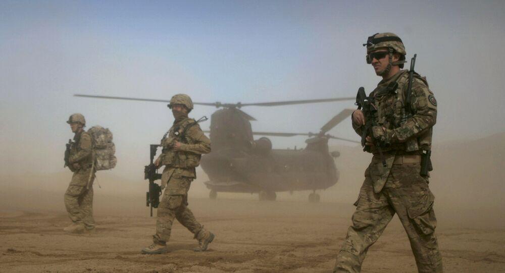Lính quân đội Hoa Kỳ ở Afghanistan