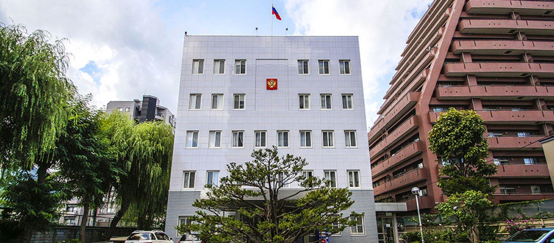 Tòa nhà Tổng lãnh sự quán Nga tại Sapporo, Nhật Bản. - Sputnik Việt Nam, 1920, 02.06.2021