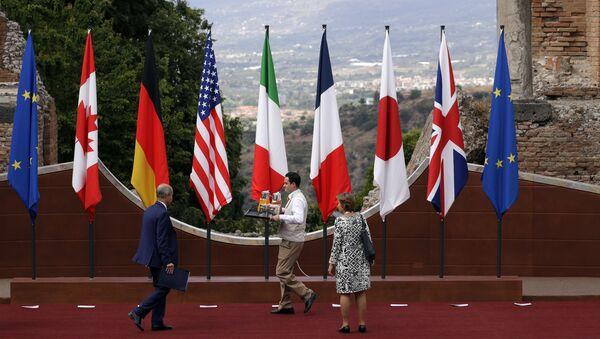Công tác chuẩn bị cho hội nghị thượng đỉnh G7 ở Ý. - Sputnik Việt Nam