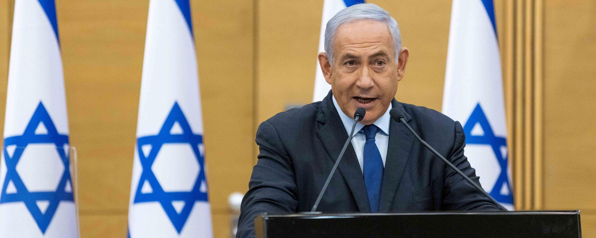 Thủ tướng Israel Benjamin Netanyahu. - Sputnik Việt Nam, 1920, 02.06.2021