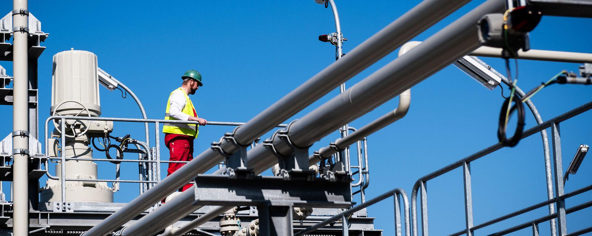 Xây dựng đường ống dẫn khí Nord Stream 2 ở Đức - Sputnik Việt Nam, 1920, 07.10.2021