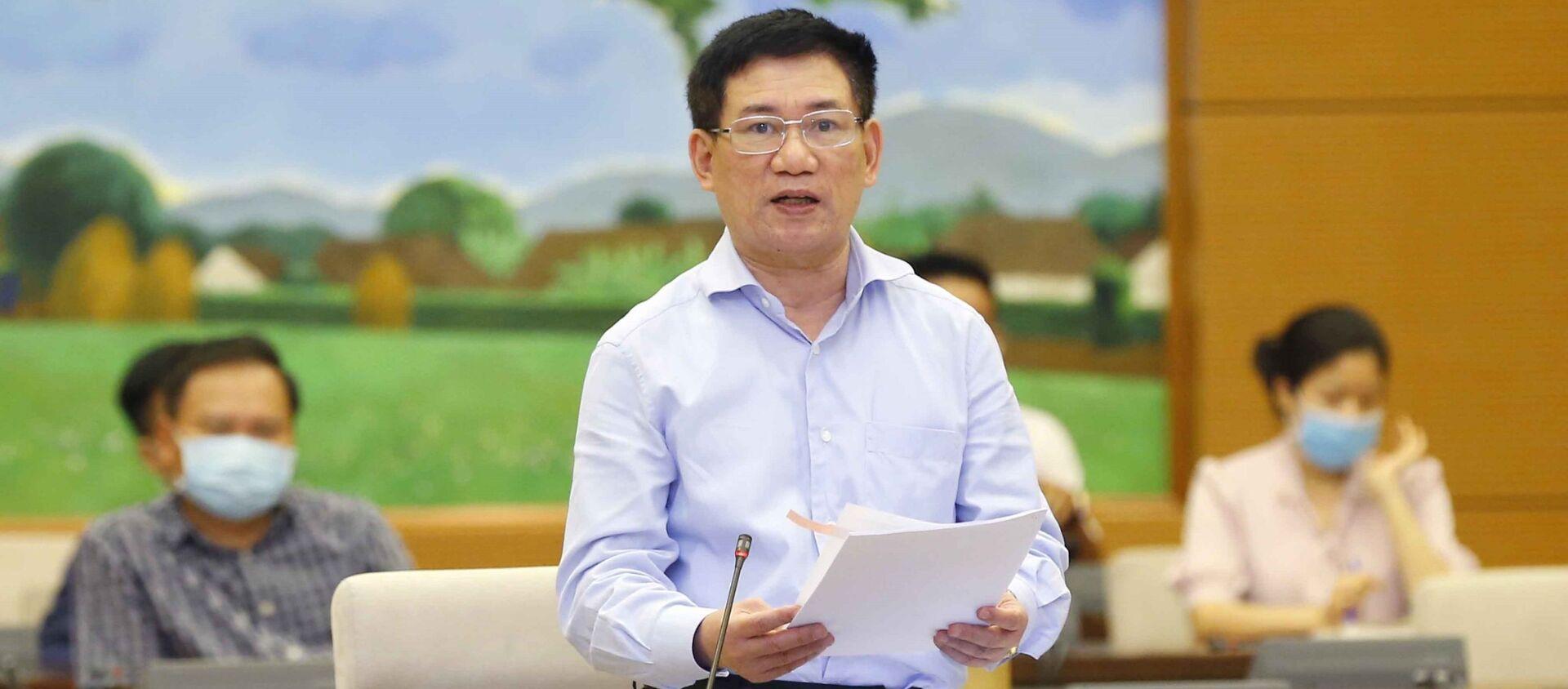 Bộ trưởng Bộ tài chính Hồ Đức Phớc - Sputnik Việt Nam, 1920, 04.06.2021