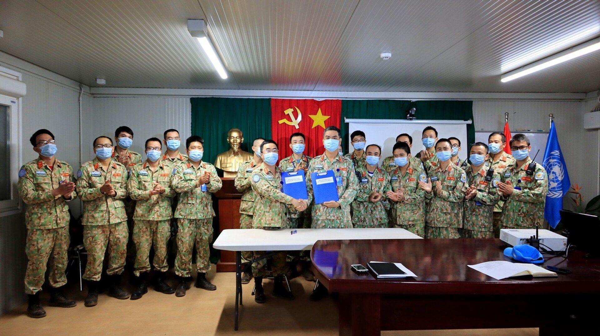 Phái bộ gìn giữ hòa bình Việt Nam tại Liên hợp quốc tại Nam Sudan - Sputnik Việt Nam, 1920, 05.10.2021