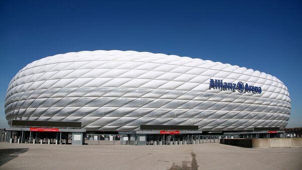 Sân vận động «Allianz» ở Munich (Đức). - Sputnik Việt Nam