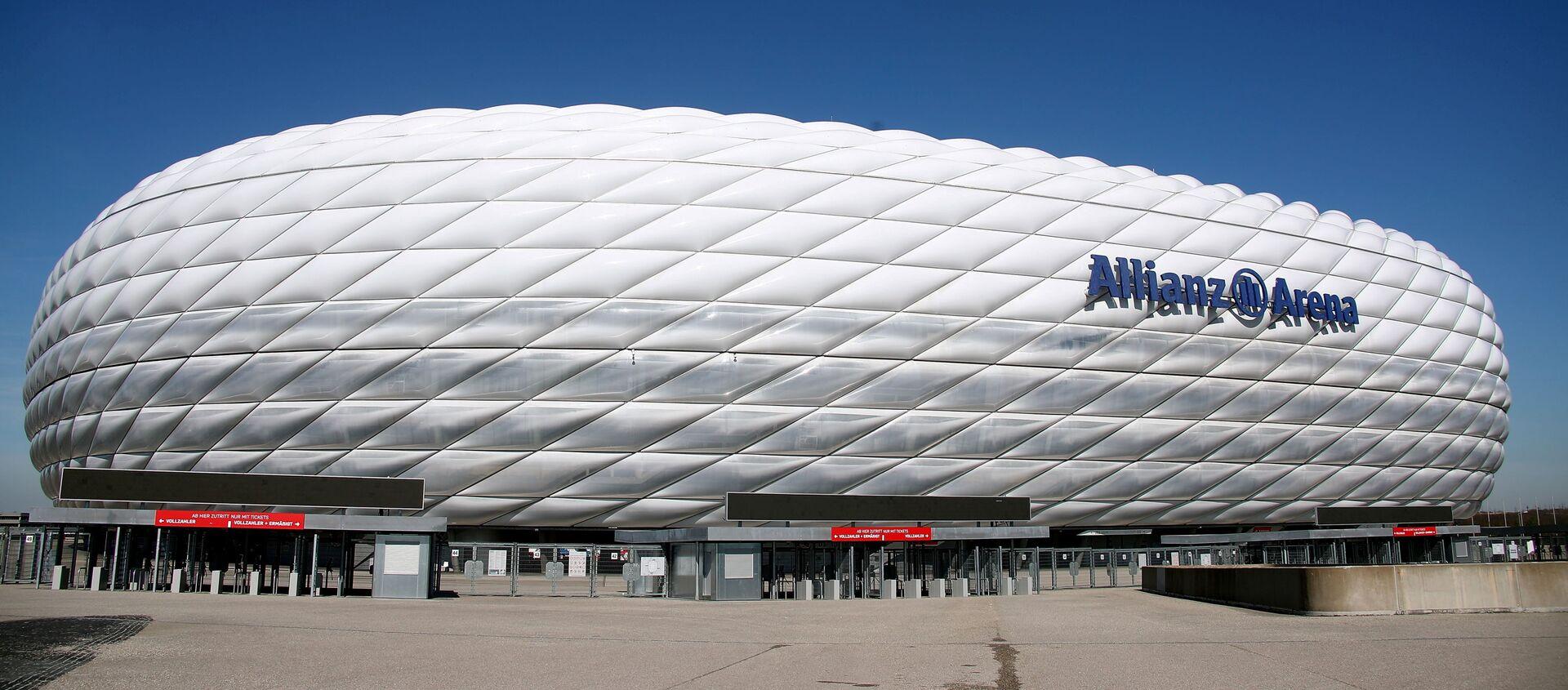 Sân vận động «Allianz» ở Munich (Đức). - Sputnik Việt Nam, 1920, 22.06.2021