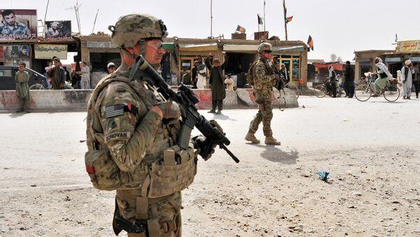 Người lính Mỹ tại biên giới giữa Pakistan và Afghanistan - Sputnik Việt Nam