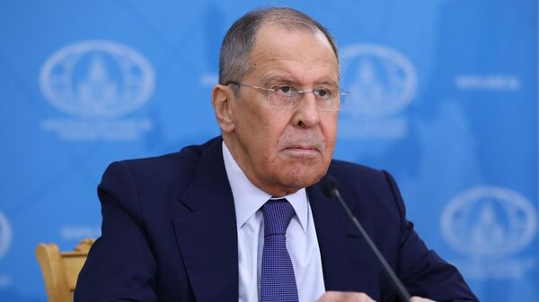 Bộ trưởng Ngoại giao Nga Sergei Lavrov. - Sputnik Việt Nam
