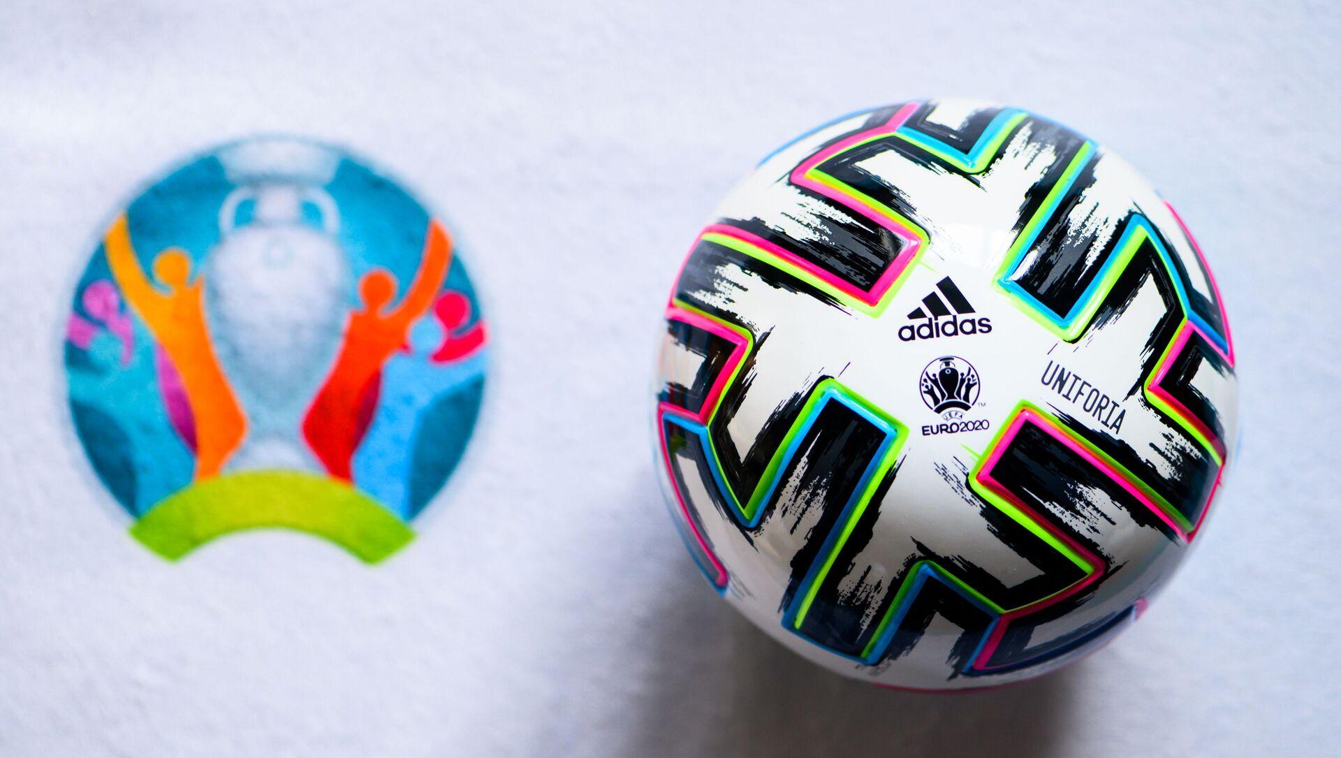 Quả bóng vô địch bóng đá châu Âu UEFA EURO 2020. - Sputnik Việt Nam, 1920, 09.06.2021