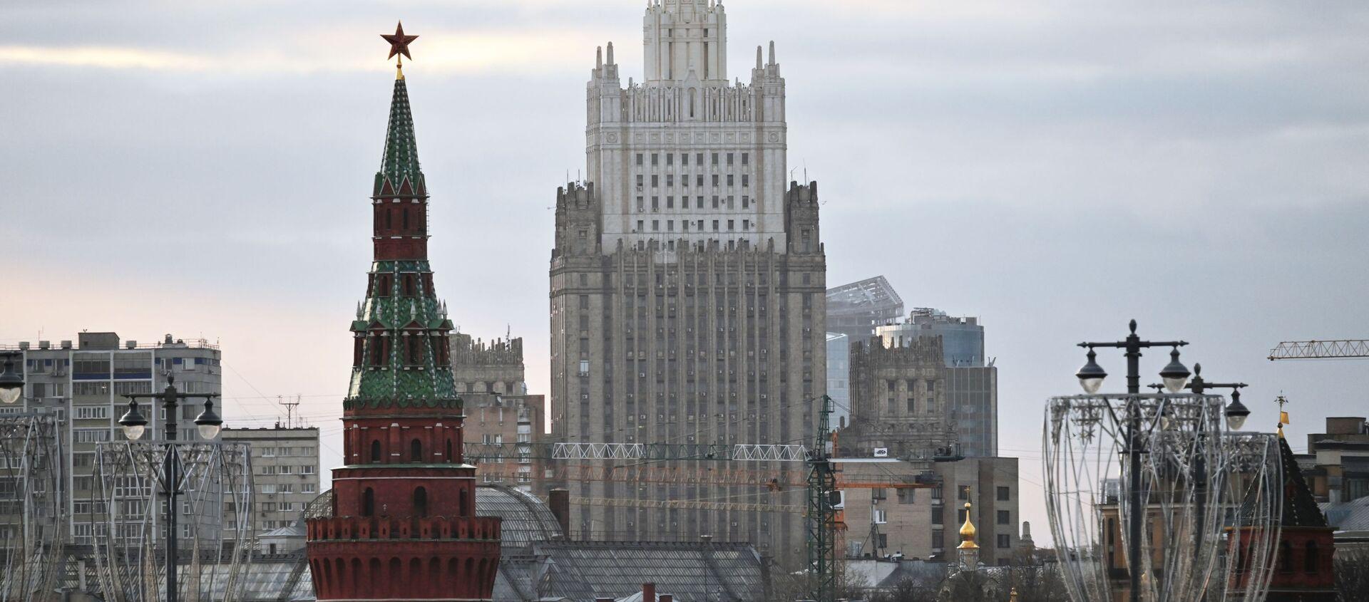 Tòa nhà của Bộ Ngoại giao Liên bang Nga. - Sputnik Việt Nam, 1920, 24.09.2021