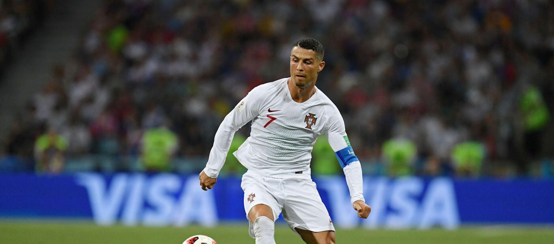 Tiền đạo Bồ Đào Nha Cristiano Ronaldo. - Sputnik Việt Nam, 1920, 14.06.2021
