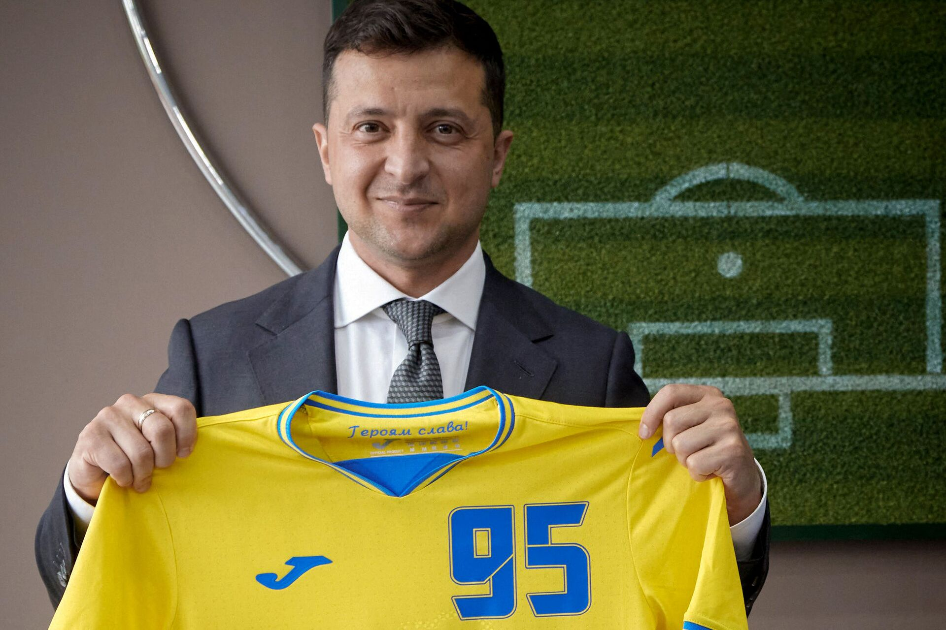 Chuyên gia Serbia về đồng phục của Ukraina tại EURO 2020: một hành động khiêu khích chính trị - Sputnik Việt Nam, 1920, 09.06.2021