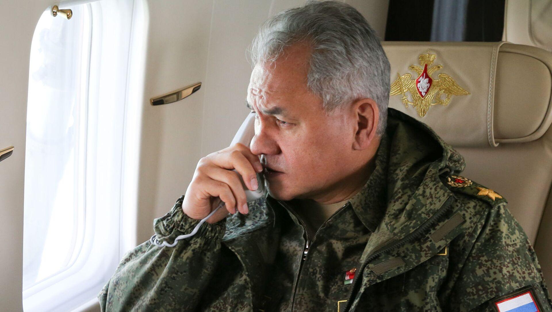 Bộ trưởng Quốc phòng Nga Sergei Shoigu. - Sputnik Việt Nam, 1920, 09.06.2021
