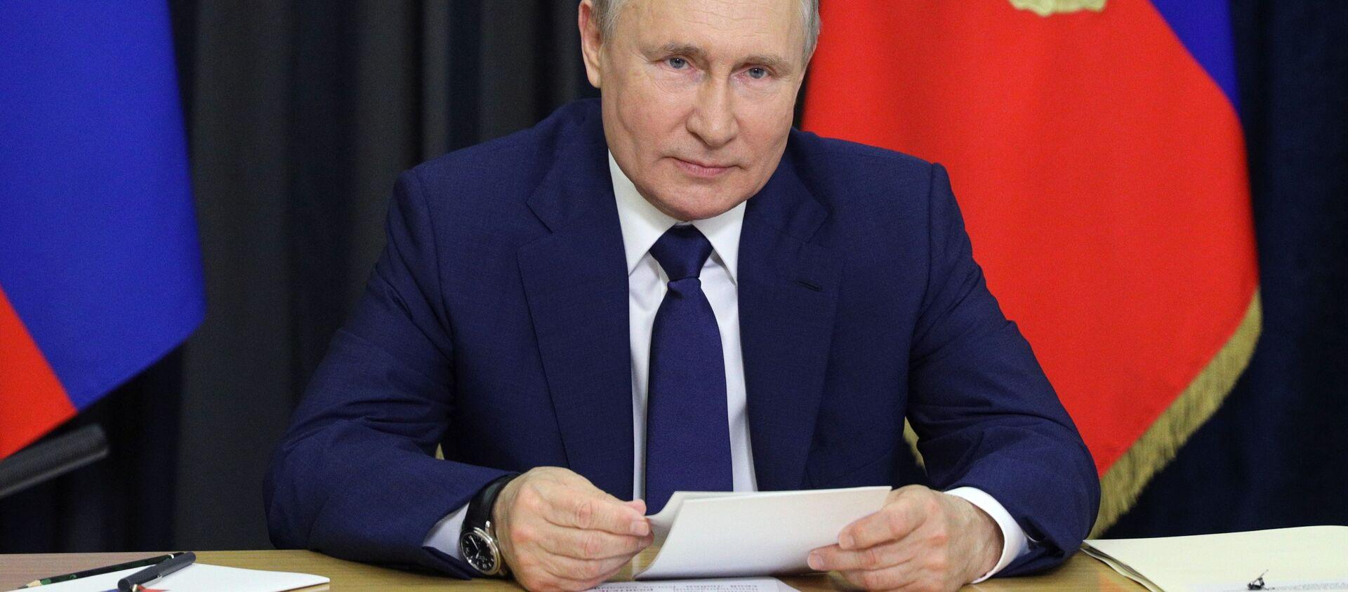 Tổng thống Nga Vladimir Putin. - Sputnik Việt Nam, 1920, 10.06.2021