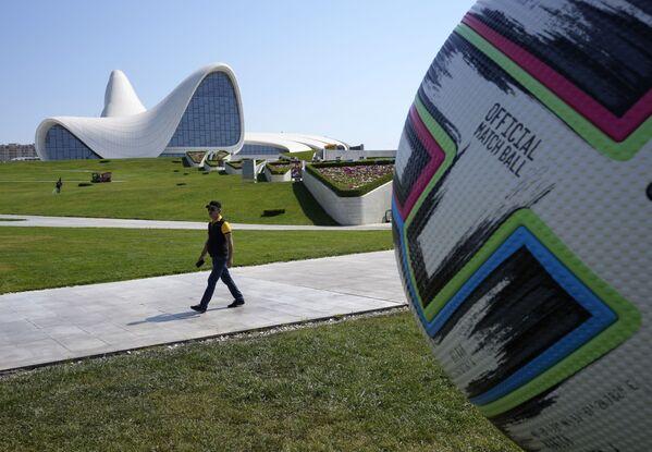 Quả bóng Euro 2020 ở Baku - Sputnik Việt Nam