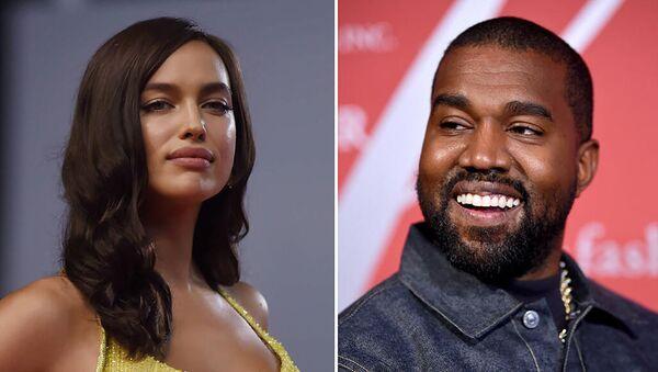 Irina Shayk và Kanye West - Sputnik Việt Nam