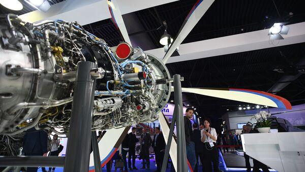 Động cơ dành cho máy bay trực thăng TV7-117ST - Sputnik Việt Nam