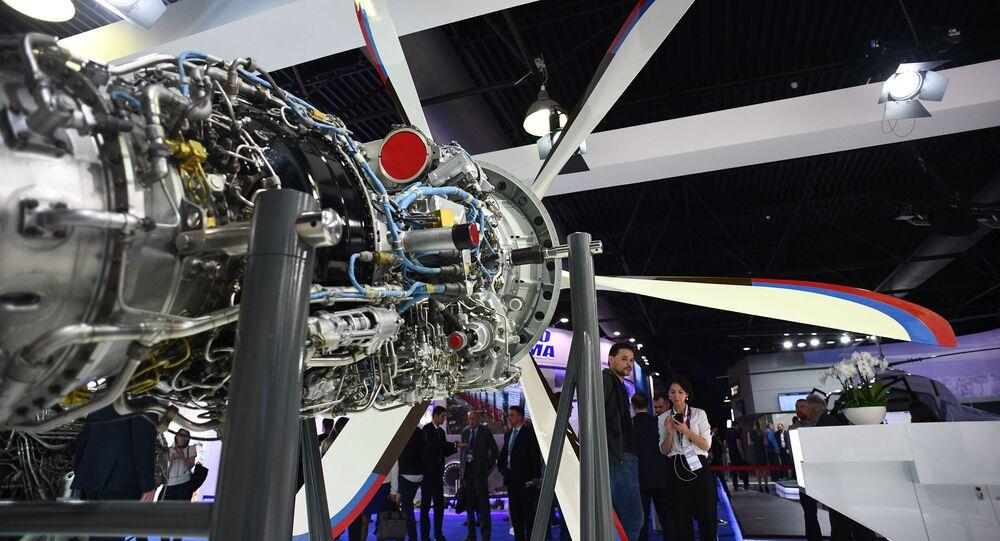 Động cơ dành cho máy bay trực thăng TV7-117ST