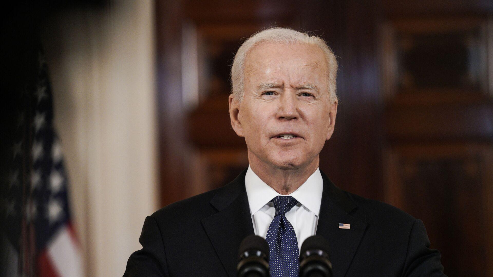Tổng thống Mỹ Joe Biden phát biểu tại Nhà Trắng - Sputnik Việt Nam, 1920, 17.06.2021