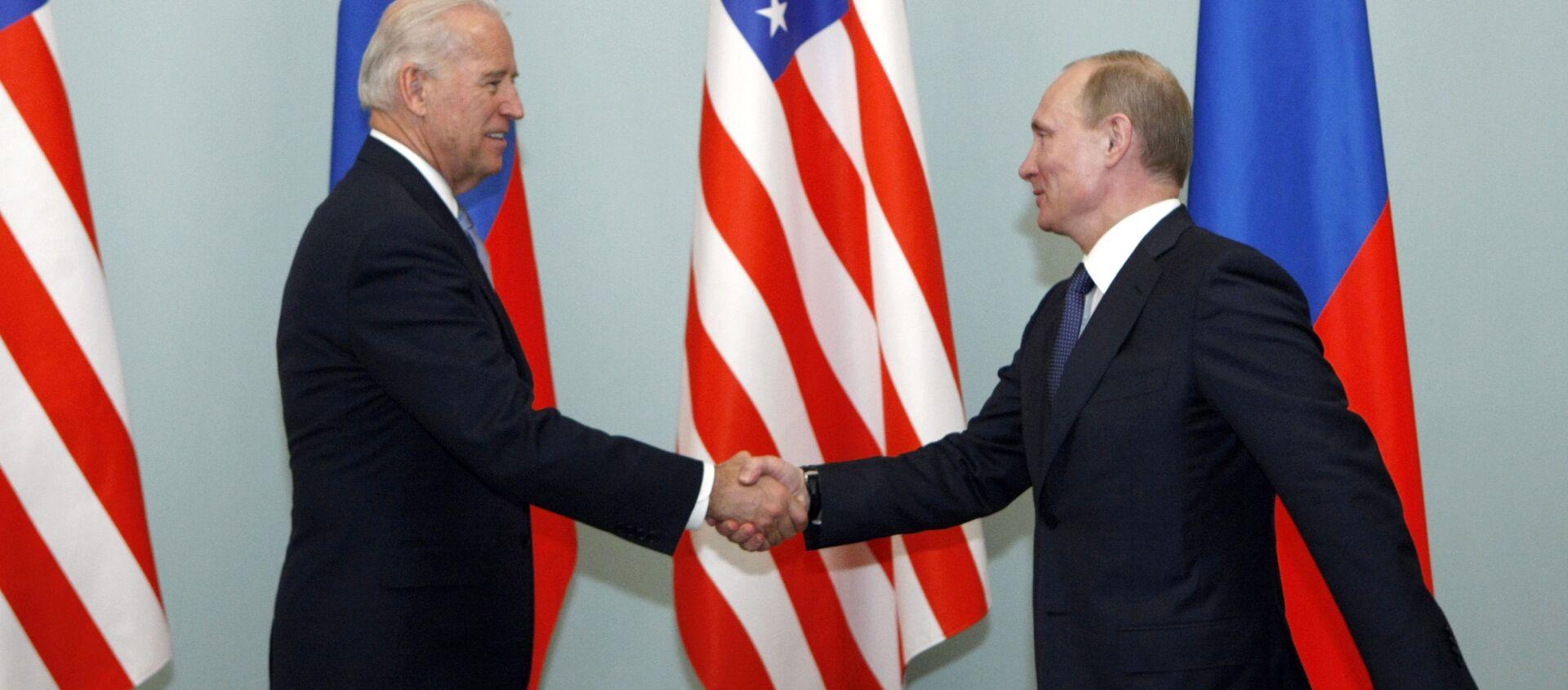 Joe Biden và Vladimir Putin - Sputnik Việt Nam, 1920, 14.06.2021
