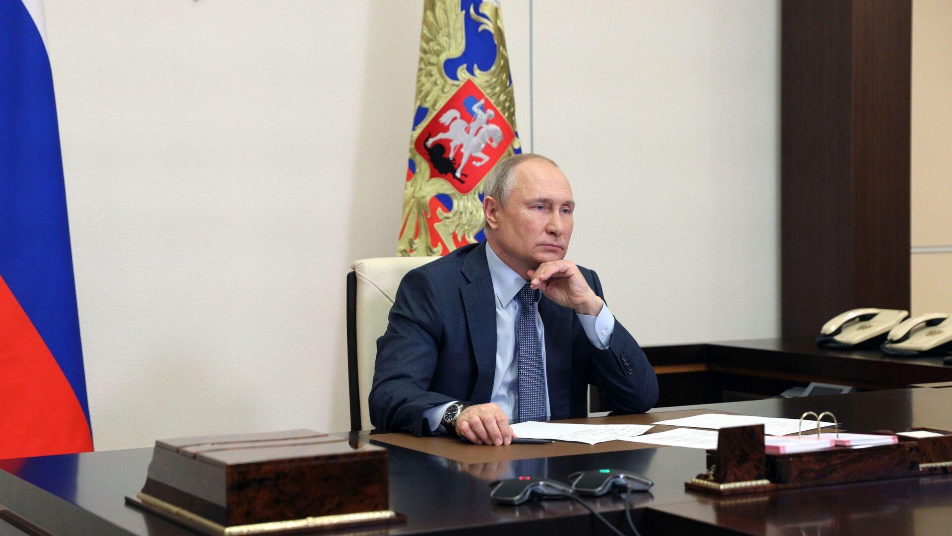 Tổng thống Nga Vladimir Putin. - Sputnik Việt Nam, 1920, 26.08.2021