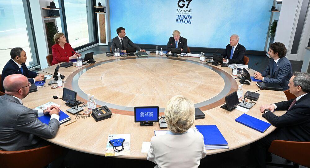 Hội nghị thượng đỉnh G7 ở Anh.