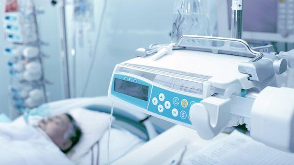 Bệnh nhân trong phòng chăm sóc đặc biệt. - Sputnik Việt Nam